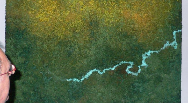 Detalle de Amalur: madre tierra. Imágenes Pedro Hernández.