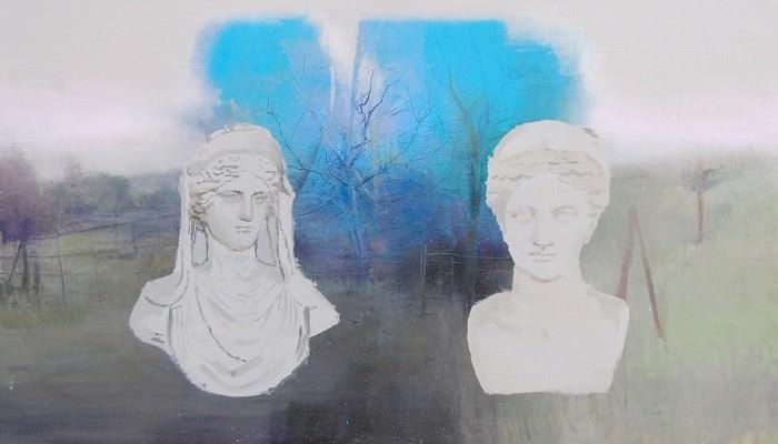 Naturaleza: dos esculturas, de Ignacio Estudillo (accésit); Imagen cortesía de la organización.