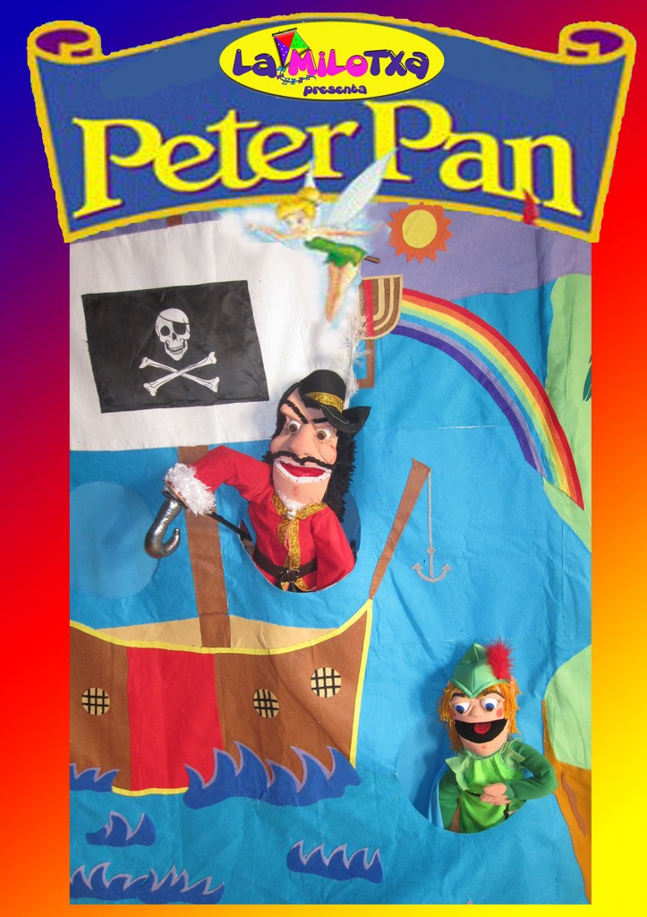 Cartel de la obra Peter Pan.