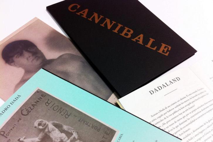 """Facsímil de la revista """"Cannibale"""", de Francis Picabia, editado por la UCLM y presente en la exposición."""