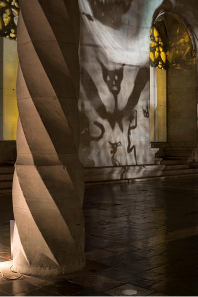 "Christian Boltanski, ""Sombras"", La Lonja, Palma de Mallorca, 2015. Imagen cortesía de la organización"