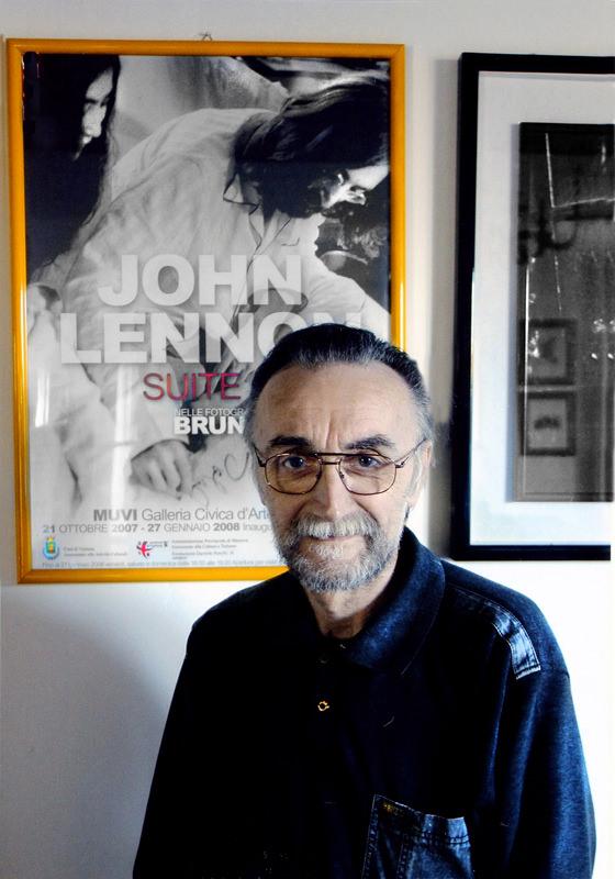 El fotógrafo Bruno Vagnini. Imagen cortesía de La Térmica.