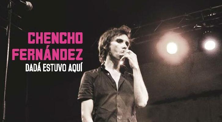 Portada del disco 'Dadá estuvo aquí', de Chencho Fernández. FunClub Records.