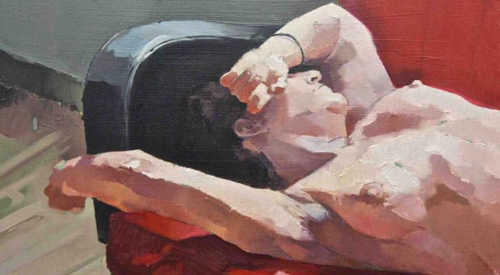 Obra de Alejandro Casanova. Imagen cortesía de Imprevisual Gallery.