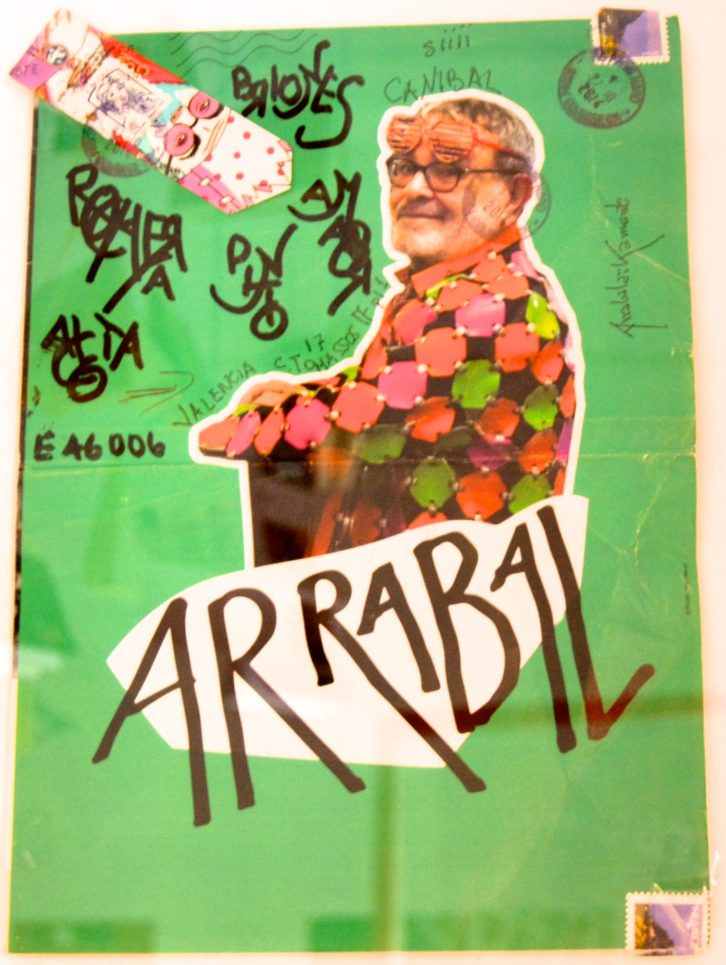 Imagen de la misiva enviada por Fernando Arrabal a la revista Canibaal.