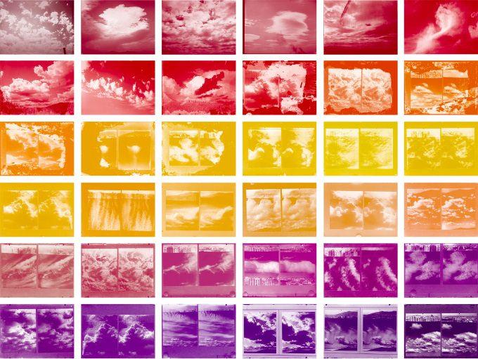 Estratos (1936-39) 2014. Tintas pigmentadas sobre papel fotográfico. Imagen cortesía de la galería