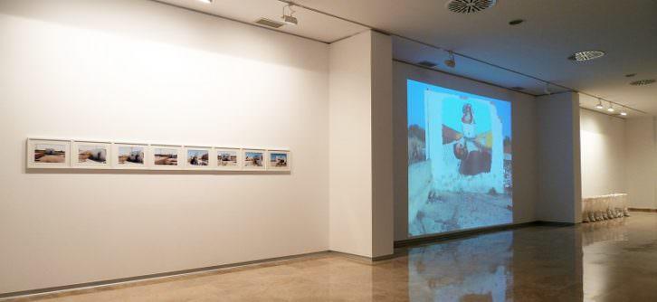 Hugo Martínez-Tormo. Broken bubble, 2014. Instalación audiovisual. Cortesía del artista.