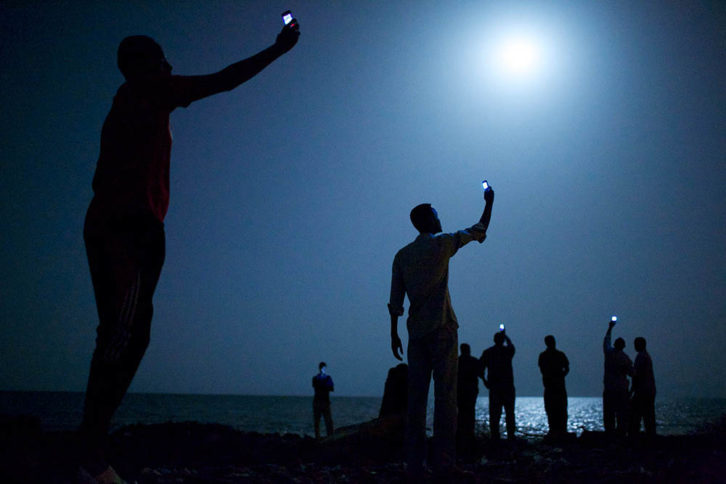 Fotografía de John Stanmeyer, ganadora del World Press Photo 2015. Imagen cortesía de WPPH Valencia.
