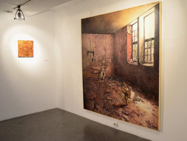 Obras de Fernando López. Imagen cortesía del Aula de Cultura La Llotgeta.