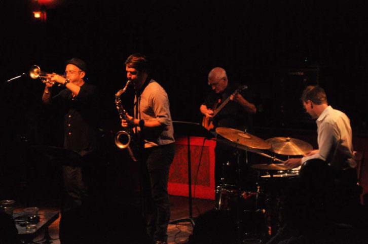 MARCO. Riverside Quartet. 10º Festival de Jazz de Vigo. Imaxina Sons'14