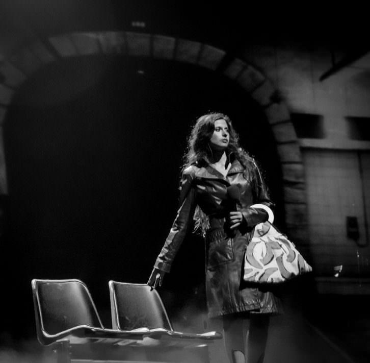 Escena de 'La fuerza del destino', espectáculo homenaje a Mecano. Cortesía de Teatro Olympia.