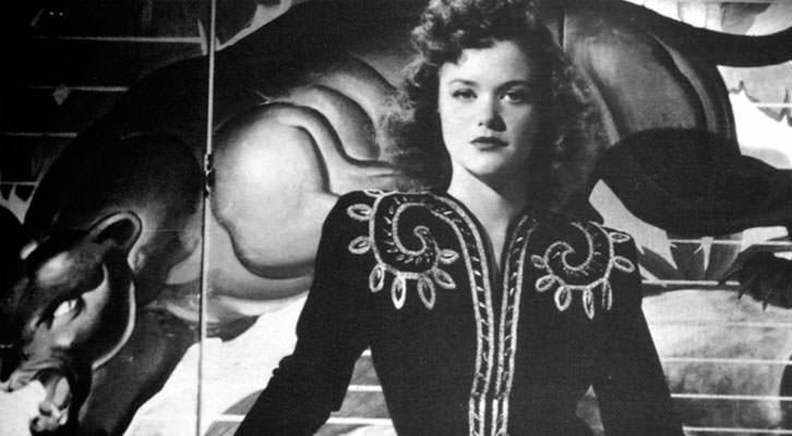 Simone Simon en 'La mujer pantera', de Jacques Tourneur.
