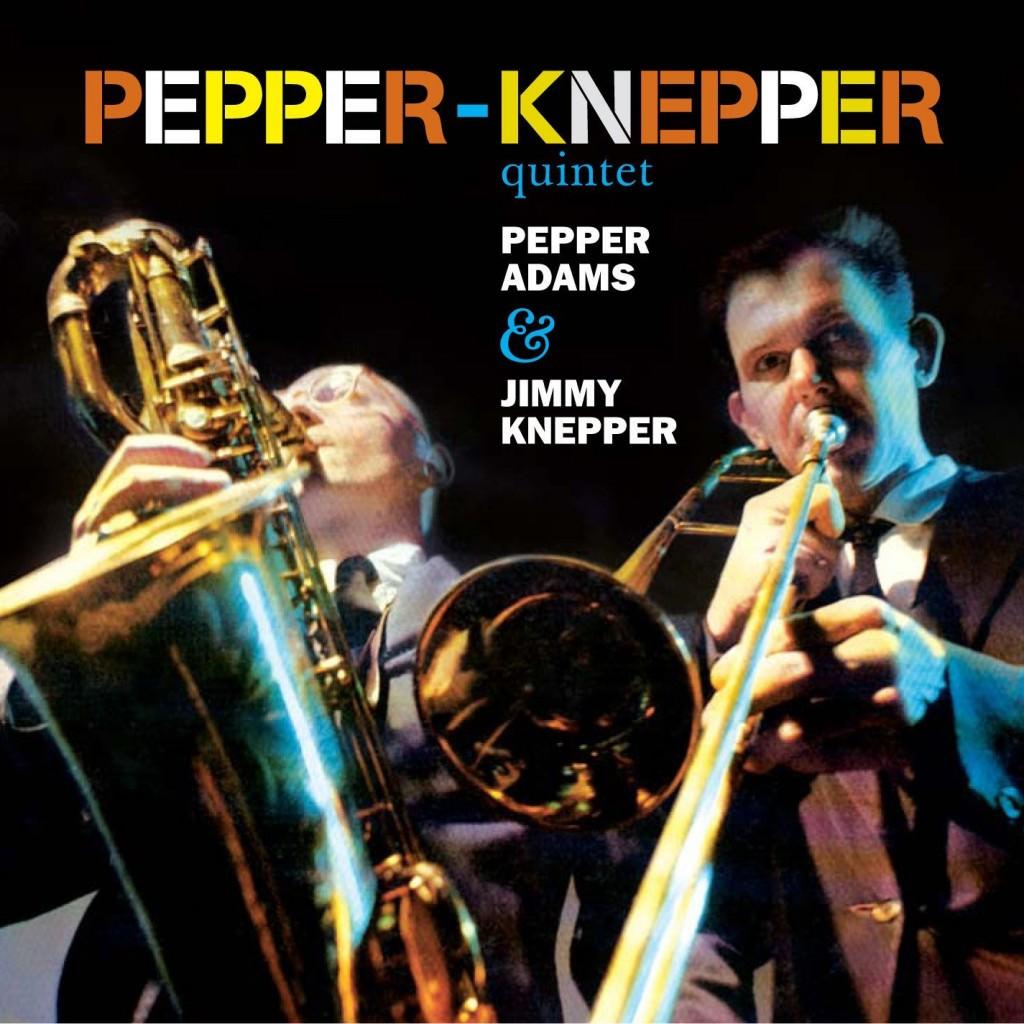 Portada del disco de Pepper & Knepper Quintet.