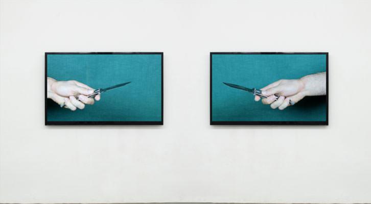 Obra de Miguel Rael. Imagen cortesía de Espai Tactel.