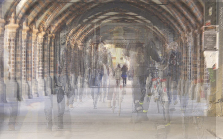 Obra de Susana López Fernández. Imagen cortesía de Art Rooms.