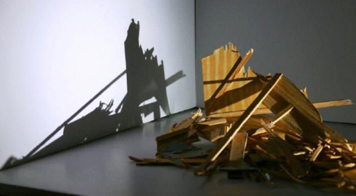 Obra de Antonio Fernández Alvira, de la galería Espai Tactel.