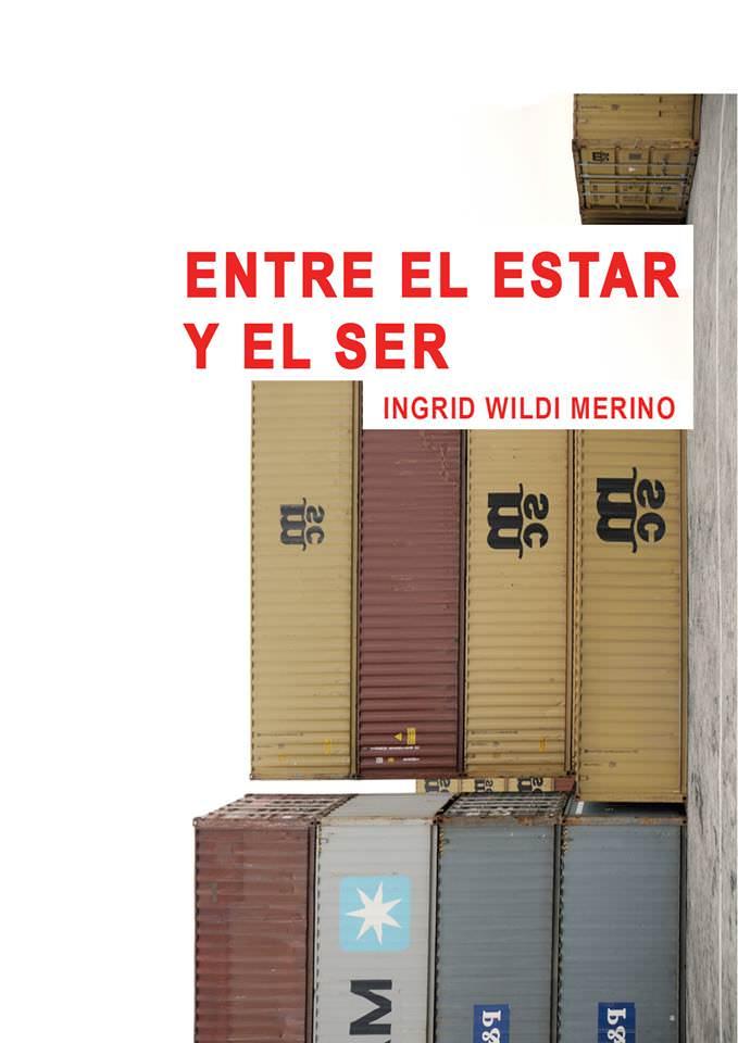 Cartel anunciador de la exposición de Ingrid Wildi Merino en Galería Aural.