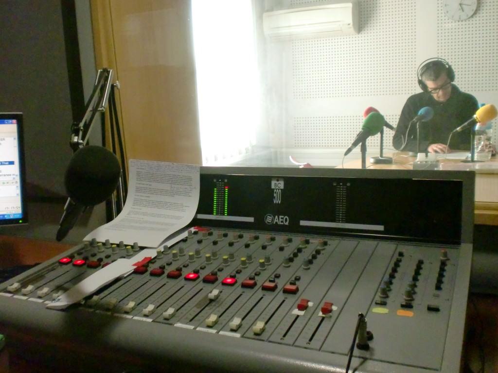 Marcos Rubio en el estudio. Foto: Juan Pastor