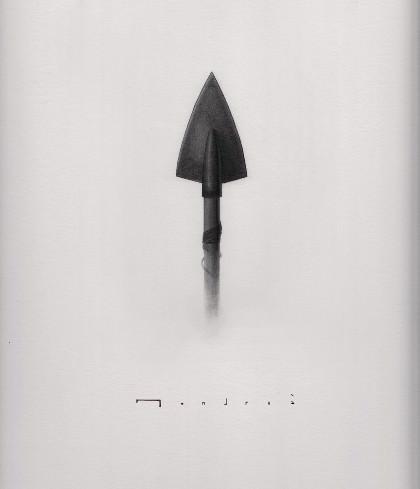 """Detalle de """"El caballo y el soldado"""",  de Carlos Mondriá. 30x40 cm. grafíto sobre papel. Imágen cortesía del autor."""
