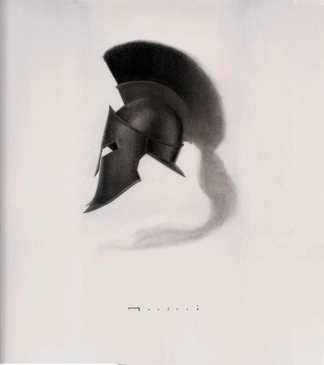 """Detalle de """"El caballo y el soldado"""" de Carlos Mondriá."""