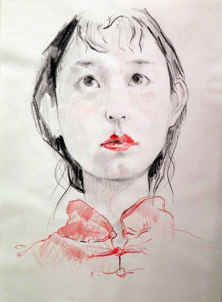 Uno de los rostros de Carlos Sebastiá en el OCCC. Imagen cortesía de Instituto Confucio de la Universitat de València.