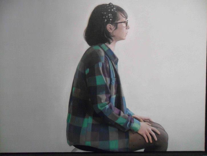 Obra de Daniel Coves en 'Room Art, 2015. Migraciones visuales'. Sala Acadèmia de La Nau de la Universitat de València.