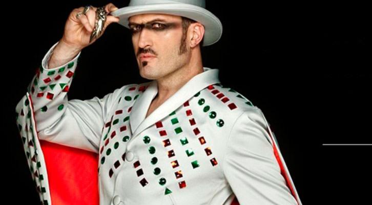 Álex O'Dogherty en una imagen promocional de The Hole 2. Teatro Olympia de Valencia.