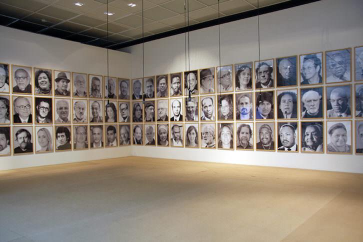 Obra de Ingrid Wildi Merino perteneciente a su serie Arquitectura de las Transferencias, para la exposición 'Entre el estar y el ser'. Cortesía de Galería Aural.