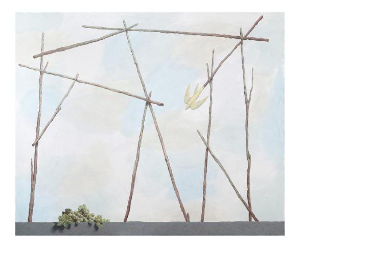 Obra de Luis Vassallo, de Espacio Valverde, en Casa Leibniz. Imagen cortesía de los organizadores.