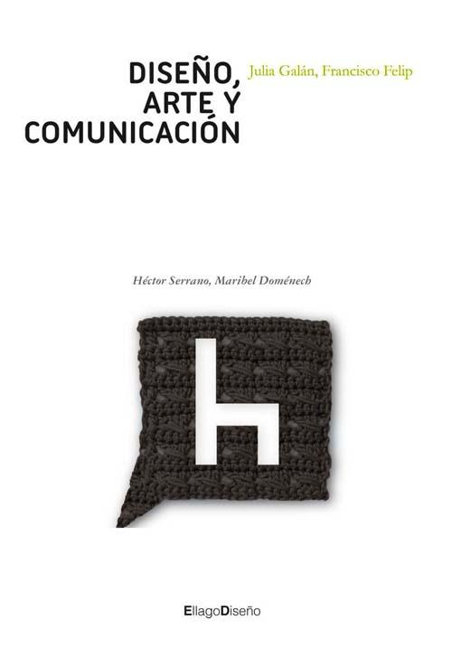 Portada libro: Diseño, arte y comunicación, de