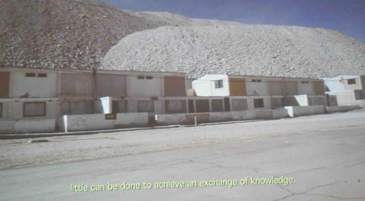 Imagen del video de Regina de Miguel que forma parte de la exposición de Fundación La Posta.