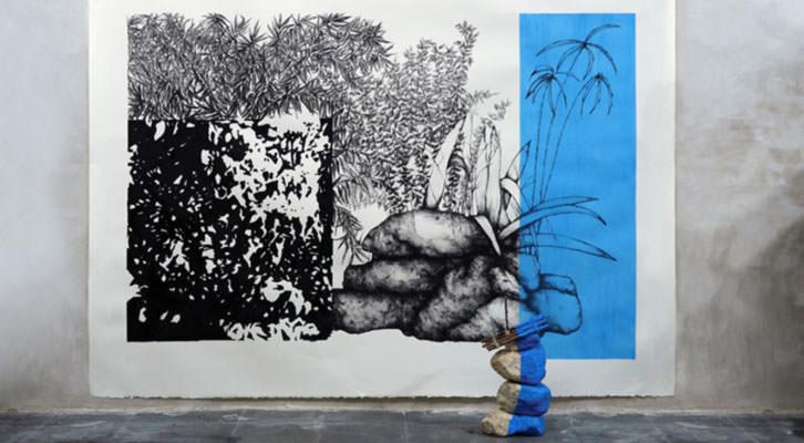 Obra de Rosana Antolí en Espai Tactel.