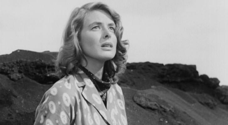 Ingrid Bergman en un fotograma de 'Stromboli', de Roberto Rossellini. IVAC La Filmoteca.