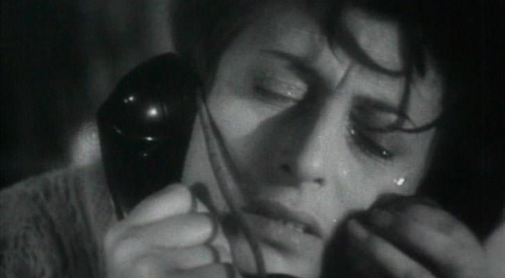 Ana Magnani en un fotograma de L'amore, de Roberto Rossellini. Filmoteca de CulturArts IVAC.