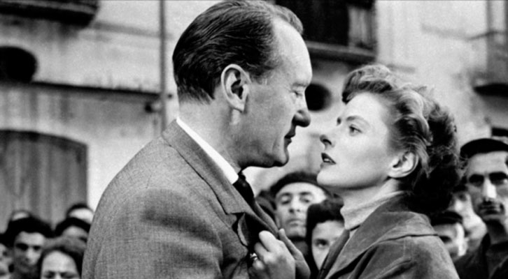 Fotograma de 'Te querré siempre', de Roberto Rossellini. La Filmoteca de CulturArts IVAC.