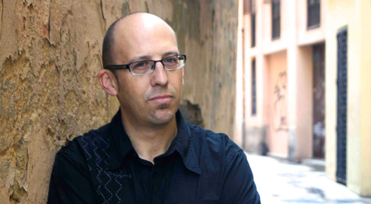 Santiago Álvarez, autor de 'La ciudad de la memoria'. Editorial Almuzara. Imagen cortesía del autor.