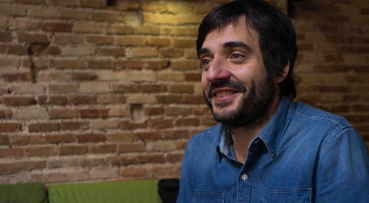 Vicente Martínez, en los Desayunos Makma de Lotelito. Fotografía: Gala Font de Mora.