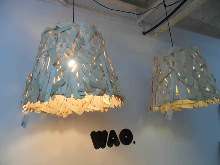 Lámparas de Wao en La Chaise.