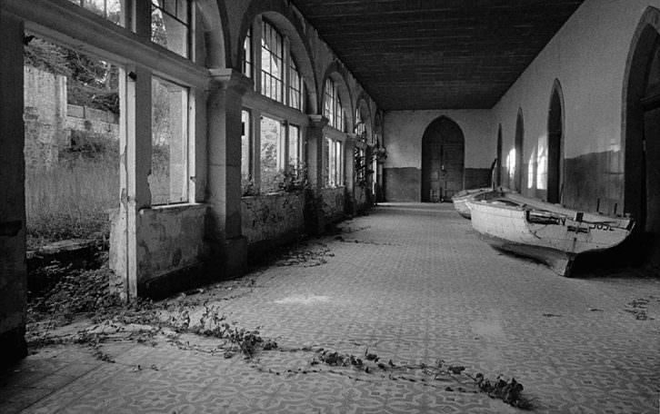 Fotografía de Pilar Pequeño de su serie 'Huellas'. Imagen cortesía de Railowsky.