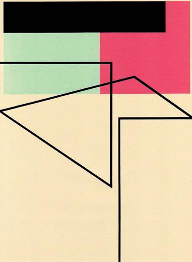 RICHARD CALDICOTT Sin título. 2012. Bolígrafo e impresión sobre papel.