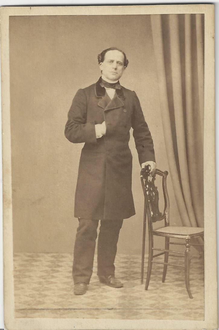 Retrato del actor Julián Romea. Colección FBS.