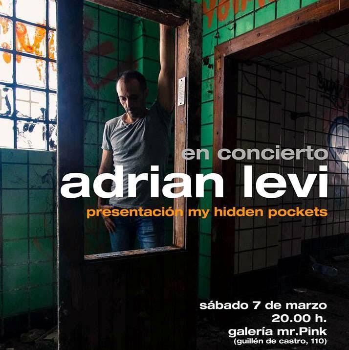 ADRIAN LEVI presentación my hidden pockets
