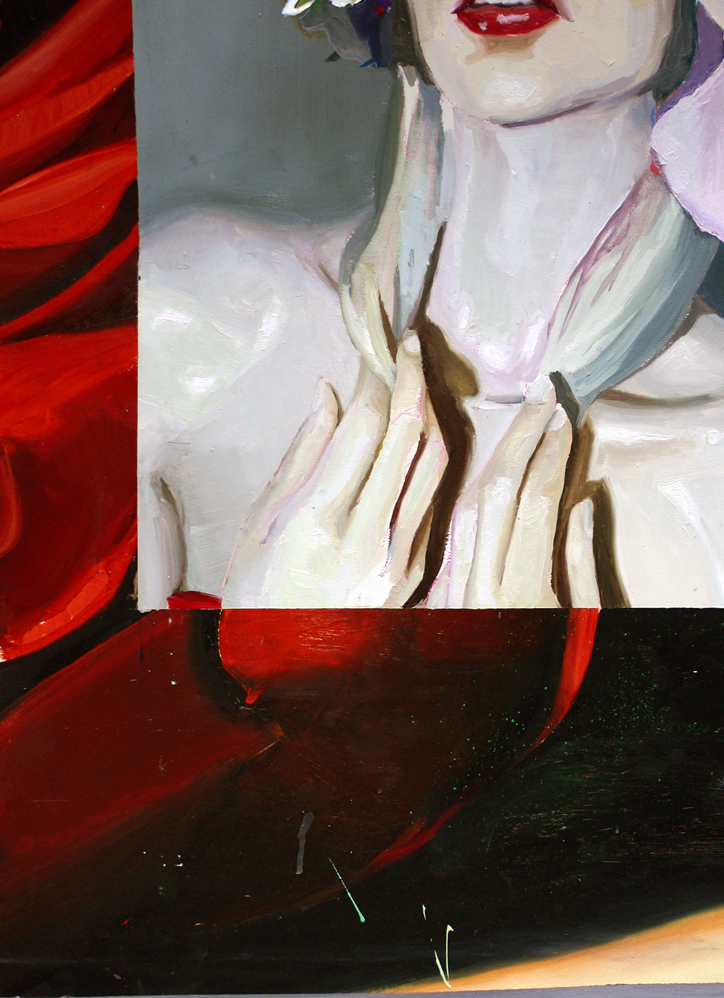 Obra de Ana Barriga para la exposición 'Incomplétudes'. Imagen cortesía de Espai Tactel.