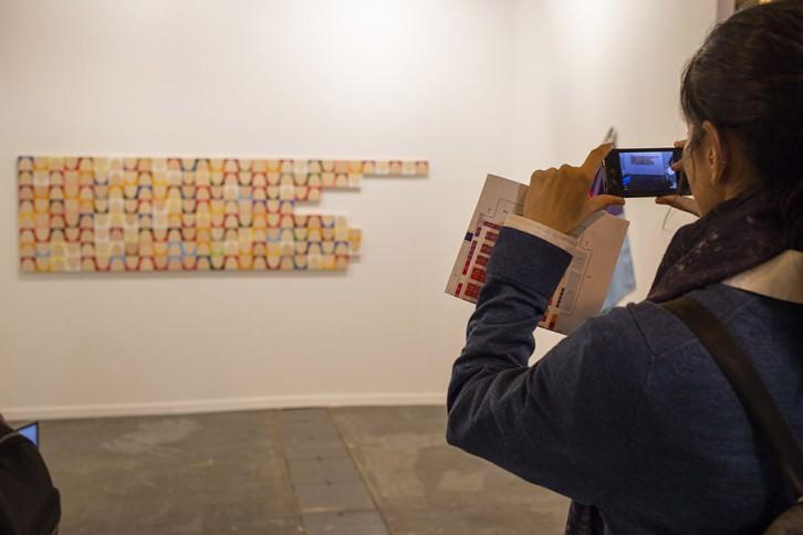 Imagen de ambiente de la pasada Feria Internacional de Arte Contemporáneo 2015. Cortesía ARCO.