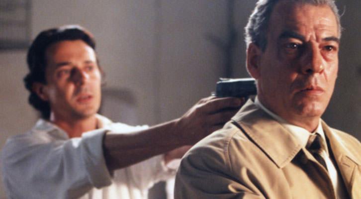 Fotograma de la versión cinematográfica, realizada por Sigfrid Monleón, de 'L'illa de l'holandès' de Ferran Torrent.