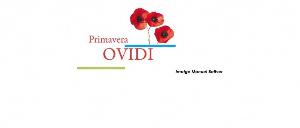 Cartel anunciador de la Primavera Ovidi en el Teatre Micalet, obra de Albert.