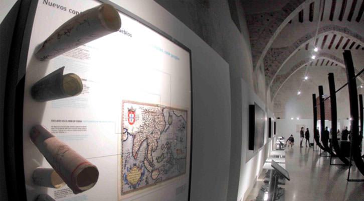 Imagen de la exposición 'Pacífico. España y la Aventura de la Mar del Sur'. Cortesía del Centro del Carmen.