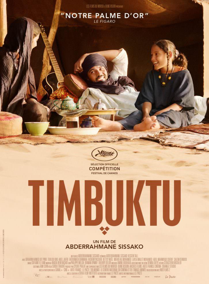 Cartel de la película Timbuktu, de Abderrahmane Sissako. Imagen cortesía de Filmoteca de CulturArts IVAC.