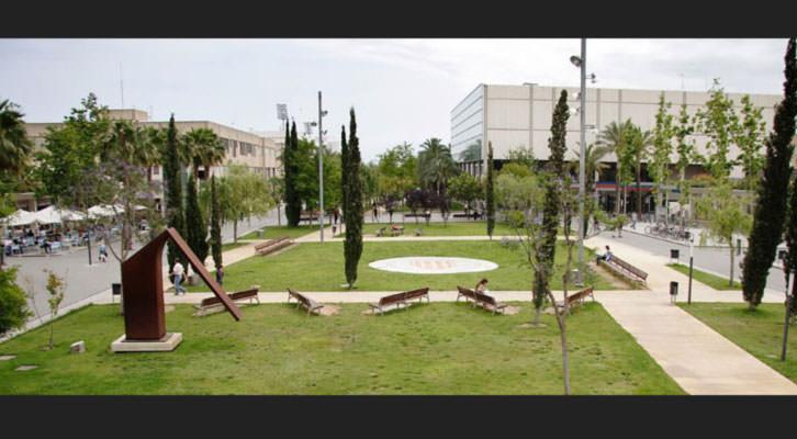 Vista general del campus de la Universitat Politècnica de València.
