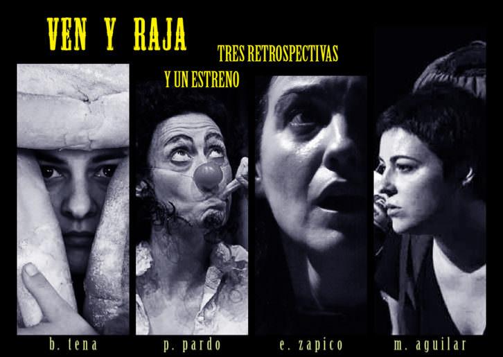 Cuatro autoras valencianas en 'Ven y Raja'. Imagen cortesía de Sala Ultramar.